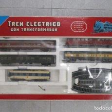 Trenes Escala: TREN ELECTRICO LIMA HO COMPLETO - CON TANSFORMADOR - CAJA ORIGINAL Y REVISTAS . Lote 185124728