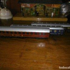 Trenes Escala: PRECIOSO LOTE DE TRES VAGONES LIMA HO. Lote 186291363
