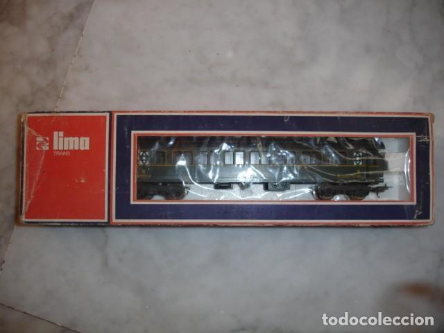 TREN LIMA VAGON PASAJEROS CLASE III RENFE 21.5 CM ESCALA HO A EXTRENAR (Juguetes - Trenes a Escala H0 - Lima H0)