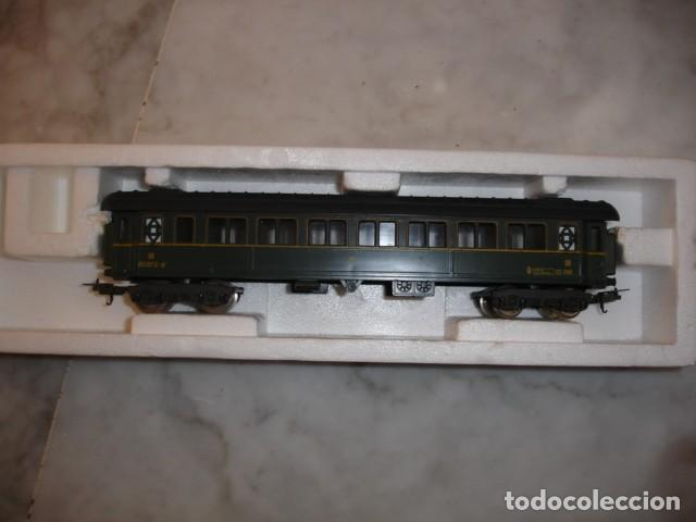 Trenes Escala: TREN LIMA VAGON PASAJEROS CLASE III RENFE 21.5 CM ESCALA HO A EXTRENAR - Foto 2 - 186387757