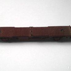Trenes Escala: ANTIGUO VAGON PLATAFORMA DE LA MARCA LIMA,TIENE SEÑALES DE USO. Lote 187485178