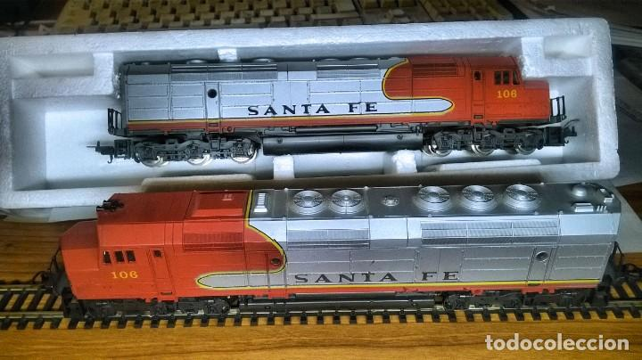 Trenes Escala: LIMA, LOCOMOTORA DIESEL SANTA FE, MOD. 106, TÁNDEM - Foto 2 - 189428412