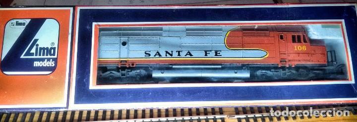 Trenes Escala: LIMA, LOCOMOTORA DIESEL SANTA FE, MOD. 106, TÁNDEM - Foto 5 - 189428412
