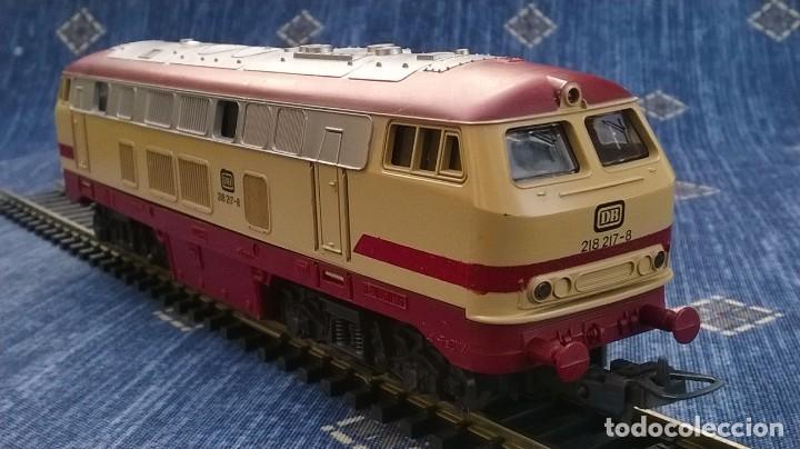 LIMA, LOCOMOTORA DIESEL DB 218 217 – 8 (Juguetes - Trenes a Escala H0 - Lima H0)