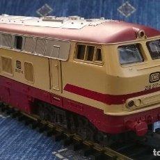 Trenes Escala: LIMA, LOCOMOTORA DIESEL DB 218 217 – 8. Lote 189437962