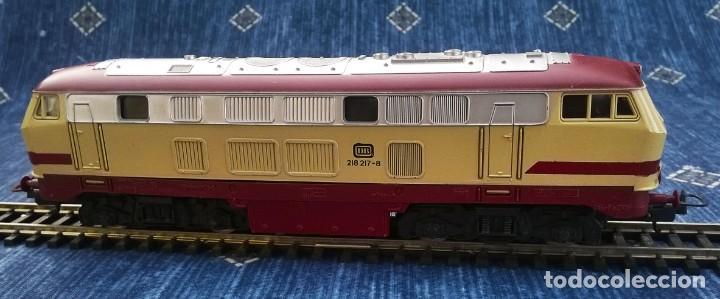 Trenes Escala: LIMA, LOCOMOTORA DIESEL DB 218 217 – 8 - Foto 2 - 189437962