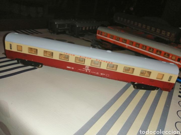 Trenes Escala: Lima H0/HO. Vagón coche de pasajeros TEE de la FS. - Foto 2 - 191014508