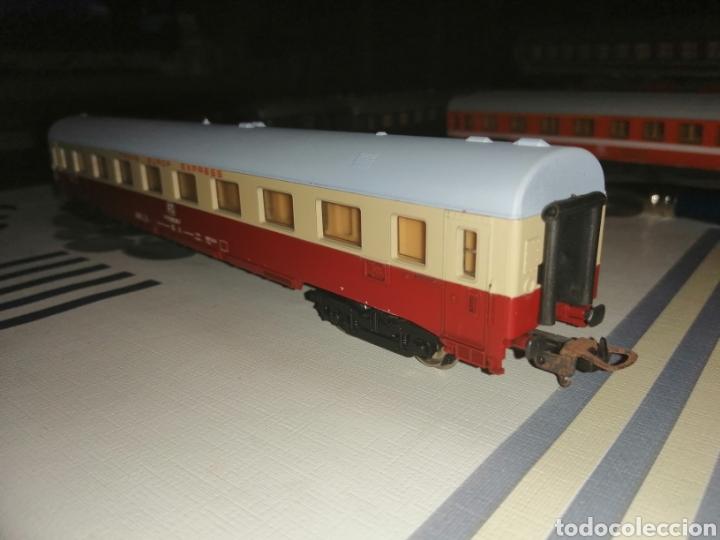 Trenes Escala: Lima H0/HO. Vagón coche de pasajeros TEE de la FS. - Foto 3 - 191014508