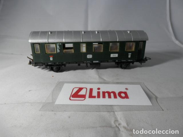 VAGÓN PASAJEROS ESCALA HO DE LIMA (Juguetes - Trenes a Escala H0 - Lima H0)