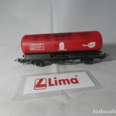 Trenes Escala: VAGON CISTERNA ESCALA HO DE LIMA . Lote 191372602