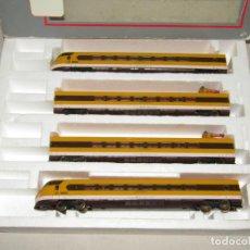 Trenes Escala: ANTIGUA COMPOSICIÓN S/443 BASCULANTE PLATANITO RENFE ESCALA *H0* DE LIMA SERIE LIMITADA Y NUMERADA. Lote 191815030