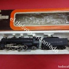 Trenes Escala: LOCOMOTORA + TENDER LIMA 8000. EN CAJA ORIGINAL. VER FOTOS. Lote 191990751