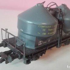 Trenes Escala: VAGÓN CISTERNA, LIMA H0. Lote 193351218