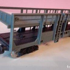 Trenes Escala: VAGÓN PORTACOCHES, LIMA H0. Lote 193369268