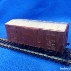 Trenes Escala: LIMA H0 CARRO MERCI COPERTO A 2 ASSI DELL FF.SS. COD. 2008. Lote 193735850