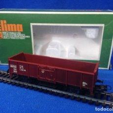 Trenes Escala: LIMA H0 CARRO UIC SCOPERTO A SPONDA ALTA A 2 ASSI COD. 3171. Lote 193736353