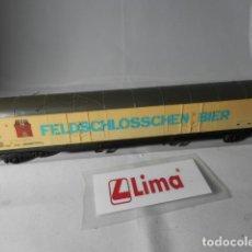 Trenes Escala: VAGÓN CERRADO ESCALA HO DE LIMA . Lote 193789838