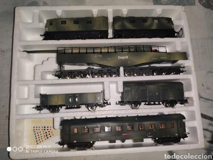 Trenes Escala: LEOPOLD, LIMA GOLDEN SERIES, TREN MILITAR ALEMAN DE LA SEGUNDA GUERRA MUNDIAL. PERFECTO Y SIN USO. - Foto 5 - 194003138