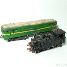Trenes Escala: 2 MAQUINAS LIMA, COMPATIBLE CON MARKLIN, IBERTREN, ELECTROTREN.... . Lote 194154161