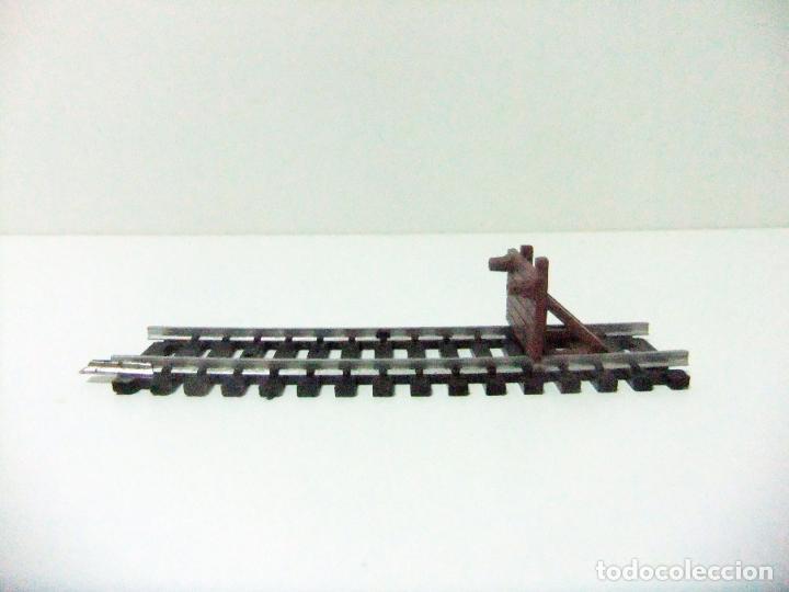 Trenes Escala: TOPE FIN DE VÍA TREN - LIMA N / 3021 MADE IN ITALY - TRAMO FINAL ESCALA HO H0 TOPE FERROCARRIL - Foto 4 - 194632911