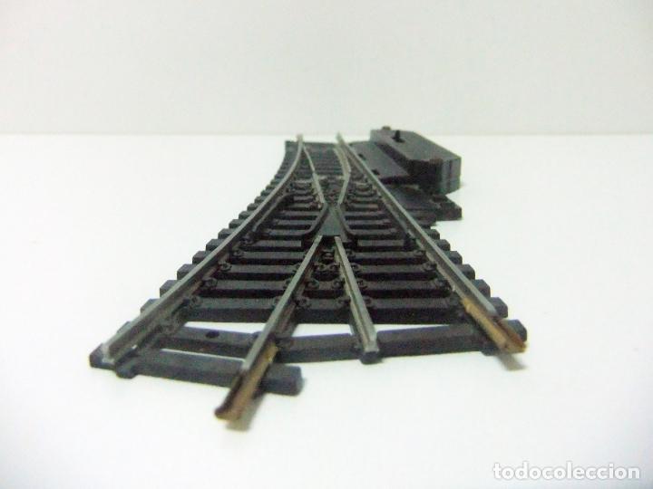 Trenes Escala: DESVÍO MANUAL VÍA TREN A LA DERECHA LIMA N 3050 MADE IN ITALY- ESCALA H0 HO TRENES FERROCARRIL - Foto 2 - 194635543