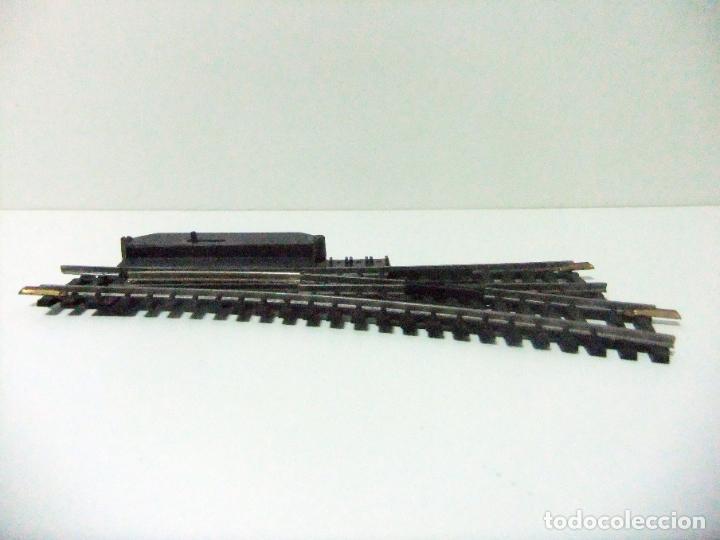 Trenes Escala: DESVÍO MANUAL VÍA TREN A LA DERECHA LIMA N 3050 MADE IN ITALY- ESCALA H0 HO TRENES FERROCARRIL - Foto 5 - 194635543