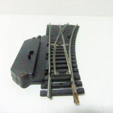 Trenes Escala: DESVÍO MANUAL VÍA TREN A LA DERECHA LIMA N 3050 MADE IN ITALY- ESCALA H0 HO TRENES FERROCARRIL. Lote 194635543