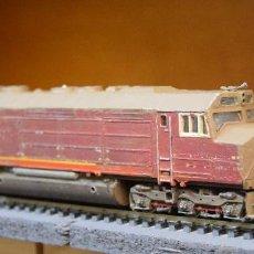 Trenes Escala: LIMA H0 LOCOMOTORA DIESEL AMERICANA S/R. *PARA MANITAS O BRICOLEADORES*. Lote 194864361