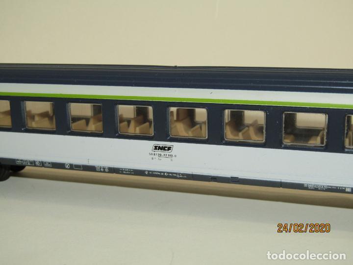 Trenes Escala: Coche de Viajeros 2ª Clase CORAIL de la SNCF en Escala *H0* de LIMA - Foto 2 - 195175285