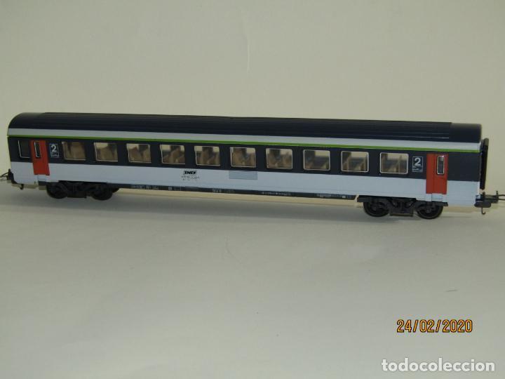 Trenes Escala: Coche de Viajeros 2ª Clase CORAIL de la SNCF en Escala *H0* de LIMA - Foto 3 - 195175285