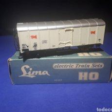 Trenes Escala: VAGÓN LIMA HO REFRIGERANTE. Lote 197857758