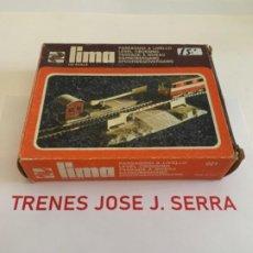 Trenes Escala: LIMA. HO. REF 021 PASO NIVEL. Lote 198100380