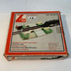 Trenes Escala: LIMA. HO. REF. 600021. PASO NIVEL. Lote 201201630