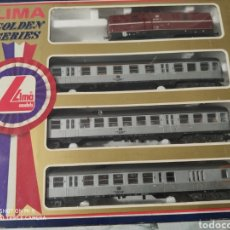 Trenes Escala: TREN LIMA GOLDEN SERIES REF. 9727. Lote 204610006