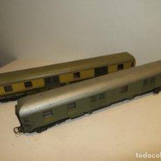 Comboios Escala: LIMA 2 VAGONES EN BUEN ESTADO,REGALADOS. Lote 206764810