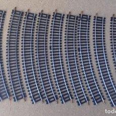 Trenes Escala: 10 VIAS SCALA H0 LIMA 22 CM. Lote 212887111