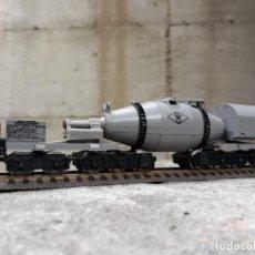 Trenes Escala: LIMA ITALY - VAGONI MERCI TRASPORTO GHISA / ACCIAIO IN SCALA H0 1/87. Lote 213110657