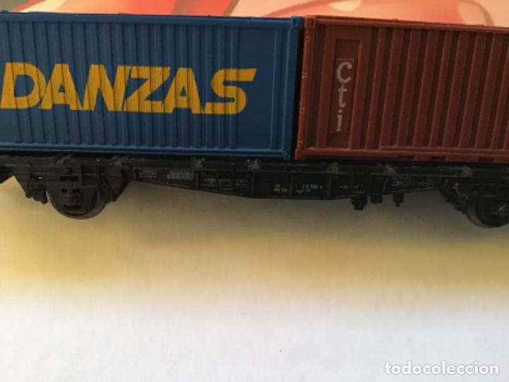 Trenes Escala: Lima H0. Vagon borde bajo con contenedores. - Foto 7 - 214859401