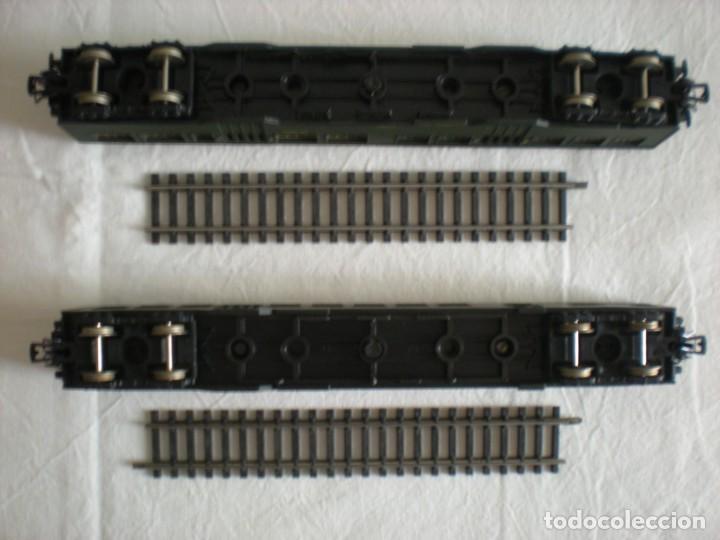 Trenes Escala: Lote # 2 Vagones Viajeros Tren Eléctrico Lima HO & Micro Model N (1964) - Foto 3 - 217820567