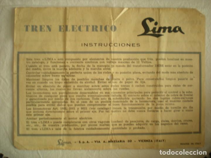 Trenes Escala: Lote # 2 Vagones Viajeros Tren Eléctrico Lima HO & Micro Model N (1964) - Foto 7 - 217820567
