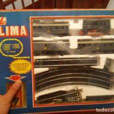 Trenes Escala: ANTIGUO TREN LIMA CREO QUE H0.NO VENDO A COMPRADORES CON VOTOS NEGSTIVOS NI 0 VOTOS. Lote 218567623