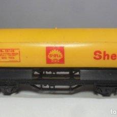 Trenes Escala: H0 - LIMA - VAGON CISTERNA SHELL. Lote 219312731