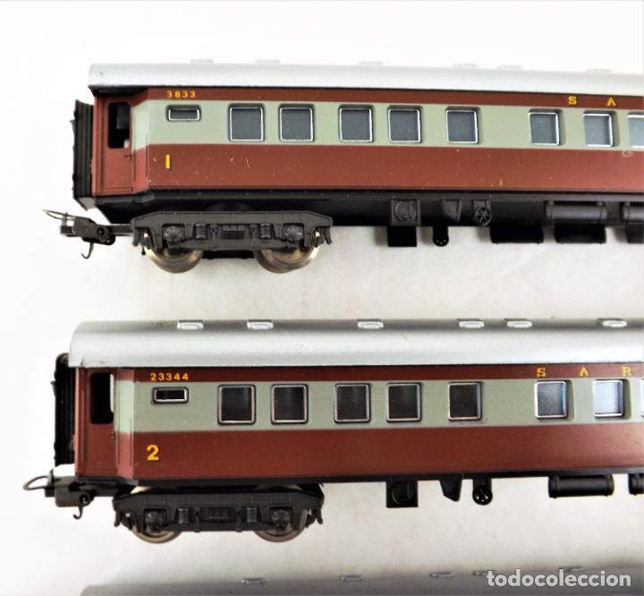 Trenes Escala: Lima H0 Conjunto de cuatro coches de pasajeros de los ferrocarriles Sudafricanos - Foto 2 - 219839126