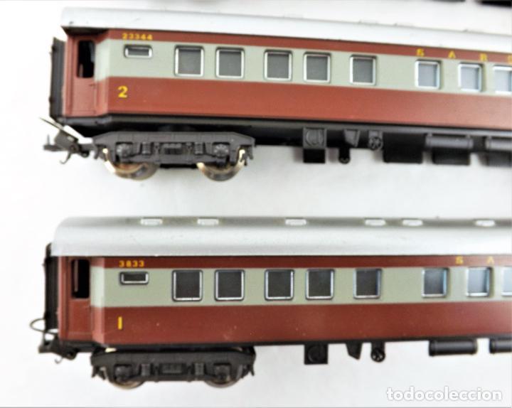 Trenes Escala: Lima H0 Conjunto de cuatro coches de pasajeros de los ferrocarriles Sudafricanos - Foto 3 - 219839126