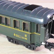 Trenes Escala: COCHE VIAJEROS III CLASE CC RENFE, LIMA ITALY H0 1/87, ORIGINAL AÑOS 70.. Lote 220620978