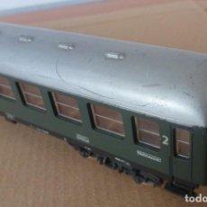Trenes Escala: VAGON DE PASAJEROS LIMA - FOTO 058 - ESQUINA ROTA. Lote 221543665