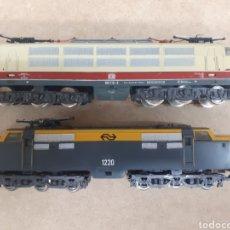 Trenes Escala: 2 LOCOMOTORAS HO LIMA ENVIO INCLUIDO. Lote 221883227