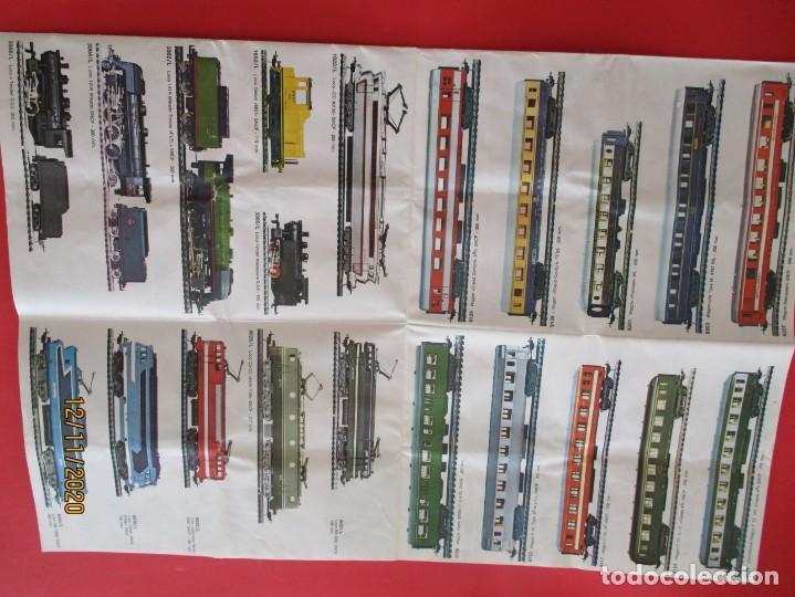 Trenes Escala: Lima catalogo doblado en 8 partes escala h0 - Foto 4 - 224437301