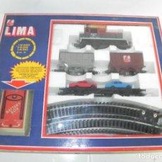 Trenes Escala: TREN ELECTRICO LIMA ESCALA HO A ESTRENAR.. Lote 232550255