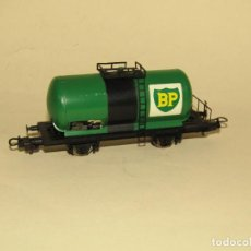 Trenes Escala: VAGÓN CISTERNA BP EN ESCALA *H0* DE LIMA. Lote 234559745